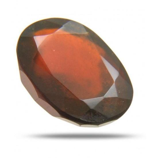 Maroon Hessonite Garnet (Gomed) Precious Gemstone